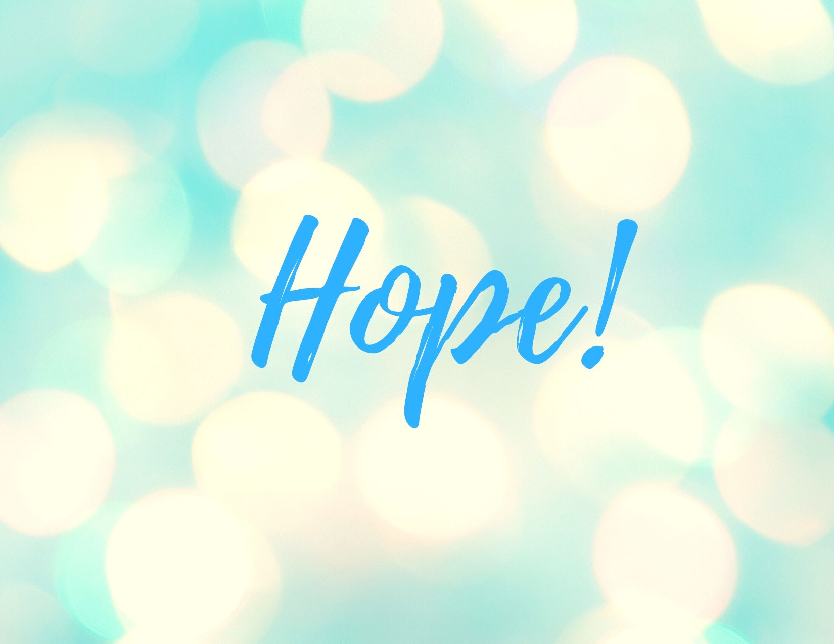 Hope newsletter